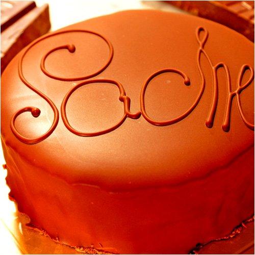 最高級洋菓子ウィーンの銘菓ザッハトルテを女性の記念日にプレゼント