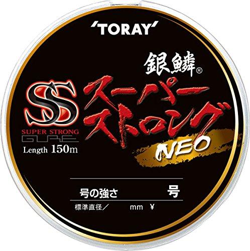 東レ(TORAY) ナイロンライン 銀鱗 スーパーストロング ネオ 150m 2号 ゴールド