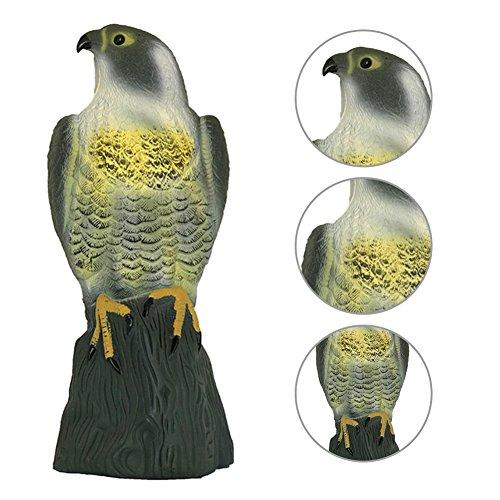 鳥専用 鳥よけ Zyurong 鷲専用 鷲よけ 庭の装飾 カラス専用退治器 防鳥防獣対策 鳥獣害用品 迷惑鳥撃退