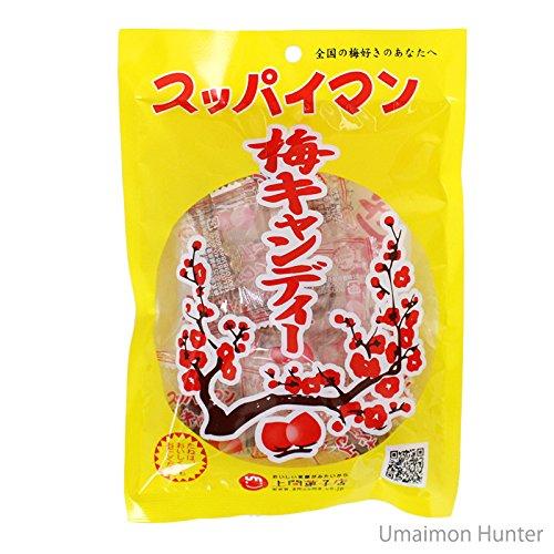 スッパイマン 梅キャンディー 12個入×4袋 上間菓子店 沖縄では定番の乾燥梅干 梅の風味に絶妙な甘さ 熱中症対策や沖縄土産にも