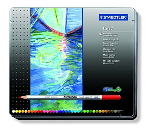ステッドラー 水彩色鉛筆 カラトアクェレル 125 M36  36色 -