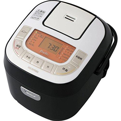 アイリスオーヤマ 炊飯器 マイコン式 3合 銘柄炊き分け機能付き RC-MB30-B