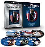 キャプテン・アメリカ:4K UHD 3ムービー・コレクション [4K ULTRA HD+ブルーレイ] [Blu-ray]