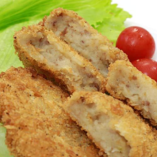 冷凍おかず コロッケ 松阪牛入り 10個セット(約5名様用) サクサクでおいしい 牛肉の旨味 北海道産じゃがいも使用