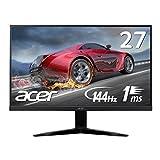 Acer ゲーミングモニター KG271Abmidpx 27インチ 応答速度1ms/144Hz対応/Free Sync/フレームレス/スピーカー内蔵