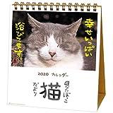 アクティブコーポレーション 2020年 カレンダー 猫 卓上 日なたぼっこ猫だより ACL-539