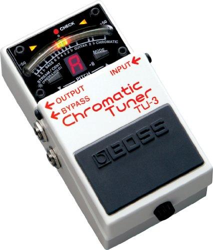 BOSS ボス CHROMATIC TUNER クロマチック・チューナー TU-3 高橋しょう子(たかしょー)さんのギターの機材! AV・セクシー女優だけど超本格派!