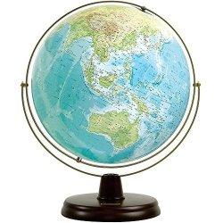 衛星地形地球儀WP(地勢)木台 W-3300