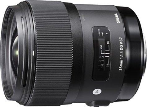 SIGMA 単焦点広角レンズ Art 35mm F1.4 DG HSM ニコン用 フルサイズ対応 340551