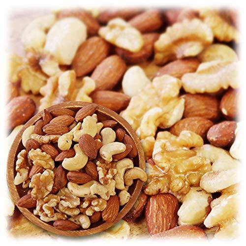 ミックスナッツ 3種類 1kg 徳用 生くるみ アーモンド カシューナッツ 素焼き 無添加 【輸入1ヶ月以内の原料使用 正規輸入】 / 3G CARE