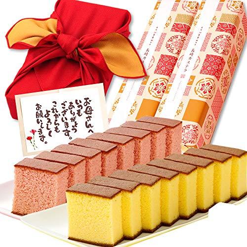 長崎心泉堂の長崎カステラは記念日に人気のプレゼント