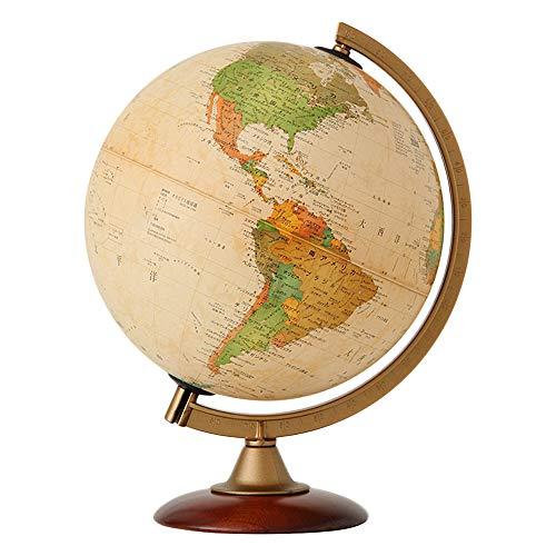 地球儀 [ライト無し] インテリア アンティーク 子供用 学習 おすすめ 行政図 球径25cm オルビス Orbys イタ...