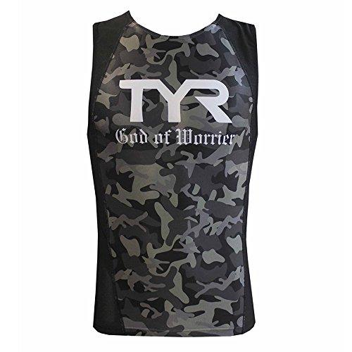 TYR(ティア) NON ZIPPER TRI SINGLET TMSG2-17S-BK ブラック L