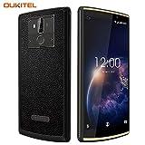 OUKITEL K7 POWER 4G SIMフリースマートフォン-10000 mAh 大容量 バッテリー 高速充電 6インチ HD 全画面 18:9ディスプレイ(2160 x 1080) ビジネス 携帯電話本体 デュアルSIM(Nano) MTK6750T 2GB RAM+16GB ROM オクタコア Android 8.1 移动电话 13MP+2MP リアデュアルカメラ 5MP フロントカメラ 指紋認識 GPS【一年保証】