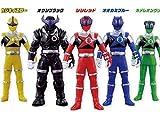 ソフビヒーロー キュウレンジャー 全5種セット