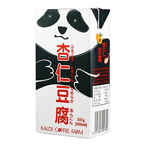 カルディコーヒーファーム パンダ杏仁豆腐