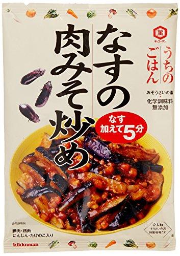 うちのごはん なすの肉みそ炒め 145g×5個