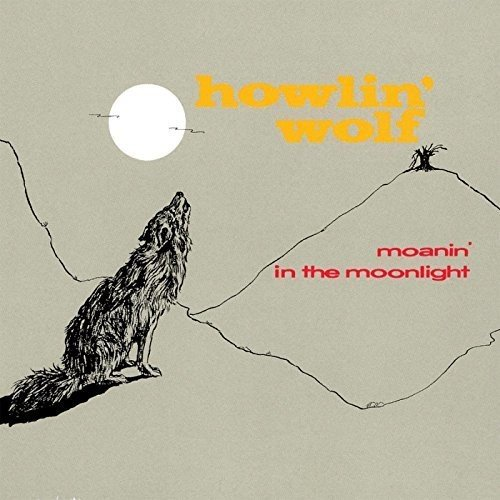 MOANIN' IN THE MOONLIGHT [LP] (180 GRAM, SOLID RED COLORED VINYL, IMPORT) [Analog]