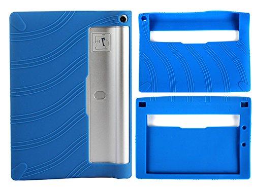 Lenovo Yoga Tablet 2-830 8.0インチ シリコン製 ソフトケース#ブルー