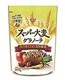 スーパー大麦 グラノーラ(日清シスコ) 200g×5袋