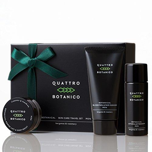 男性スキンケアのQUATTRO BOTANICOをプレゼント