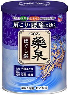 【医薬部外品】 アース製薬 バスロマン薬泉 入浴剤 ほぐし浴 750g