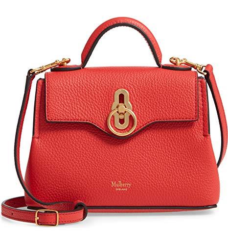女性へのプレゼントに人気の高いマルベリーの赤いバッグ