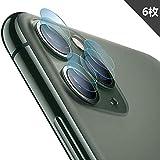 iphone 11 Pro カメラフィルム【6枚セット】【永久保証】カメラレンズ フィルム 2.5D 超薄型 日本旭硝子素材 高透過率 硬度9H iphone 11 Pro 専用