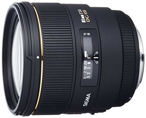 SIGMA 単焦点中望遠レンズ 85mm F1.4 EX DG HSM キヤノン用 フルサイズ対応 320546