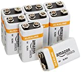 Amazonベーシック 乾電池 9V形 アルカリ 8個セット