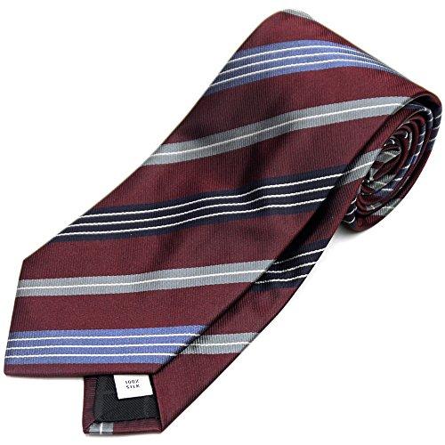 BURBERRYのレジメンタルのネクタイはギフトに最適