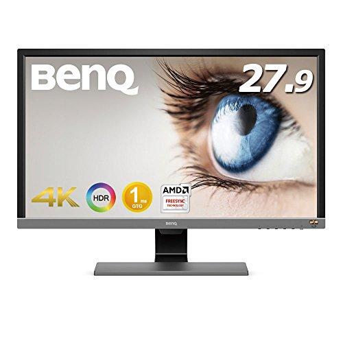 【PS4 Pro対応】BenQ ゲーミングモニター ディスプレイ EL2870U 27.9インチ/4K/HDR/TN/1ms/FreeSync対応/HD...