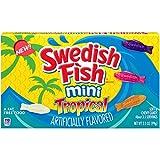 Swedish Fish Tropical Minis スウェーデンの魚形トロピカルミニ90gx3個 [並行輸入品]