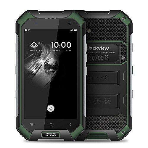 "4.7"" Blackview BV6000 4G LTE Waterproof IP68 Android 6.0 3GB+32GB GPS phone (green)"