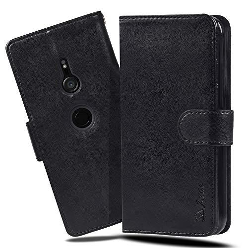Xperia XZ3 ケース 手帳型 スマホケース 横置き機能 XZ3 ケース Arae カードポケット付き ソニー エクスペ...
