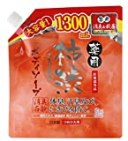 【amazon.co.jp限定】薬用柿渋ボディソープ大容量つめかえ用1300mL【医薬部外品】