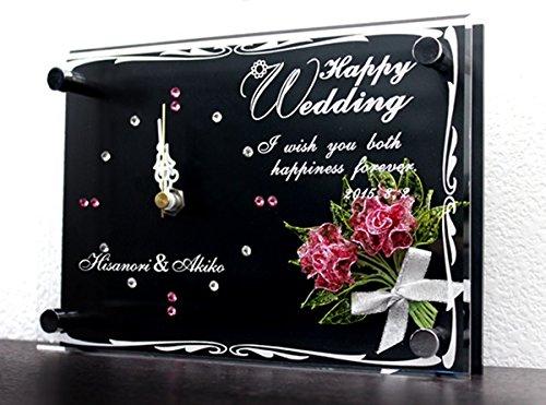 名前入りのスワロフスキー時計は結婚祝いに最適