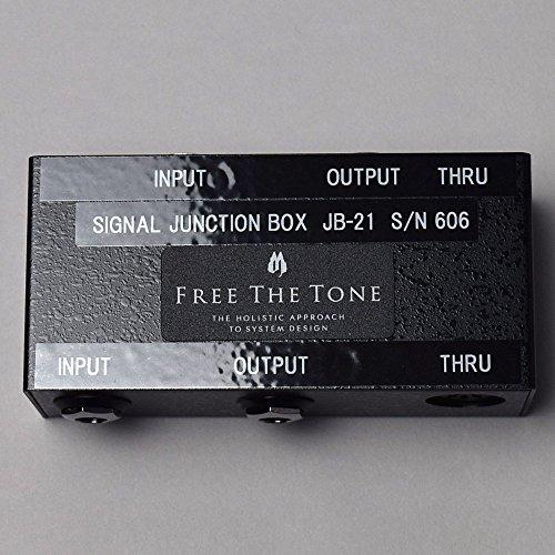Free The Tone JB-21 Signal Junction Box ジャンクションボックス 【徹底紹介】綾野剛のエフェクターボード・機材を解析!ツマミ・ノブの位置も分かる!ギターを支える足元の機材の数々を紹介! #綾野剛 #thexxxxxx #ザシックス【金額一覧】