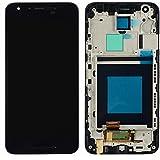 ixuan Lg nexus 5x H790修理用キット LCD液晶ガラスデジタイザスクリーン+タッチパネル フルLCD ブラックベゼルフレーム付き フロントガラスデジタイザ 修理工具付き ブラック フレーム