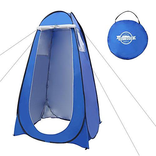 LIBERTA(リベルタ) 着替え テント ワンタッチ 折りたたみ式 1人用 ブルー