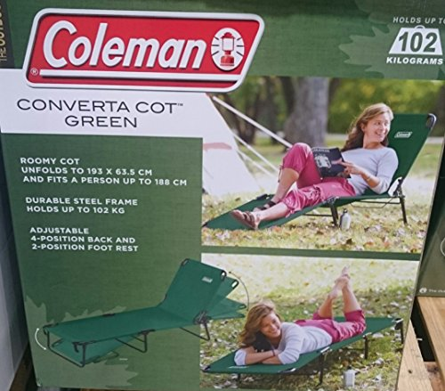 Coleman コールマン コンバーター コット 折り畳み式 ベット 耐荷重102.1kg