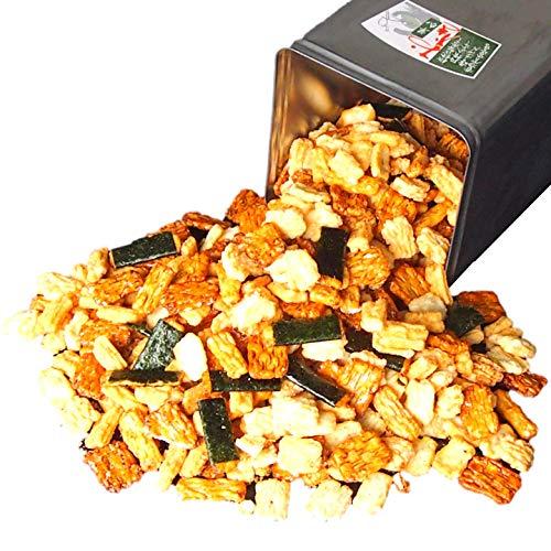 一斗缶 お得!おかき・おせんべいの詰め合わせ 内容量なんと2.5kg!
