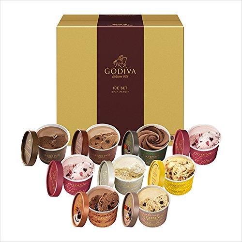 ゴディバ (GODIVA) カップアイスはプレゼントに人気