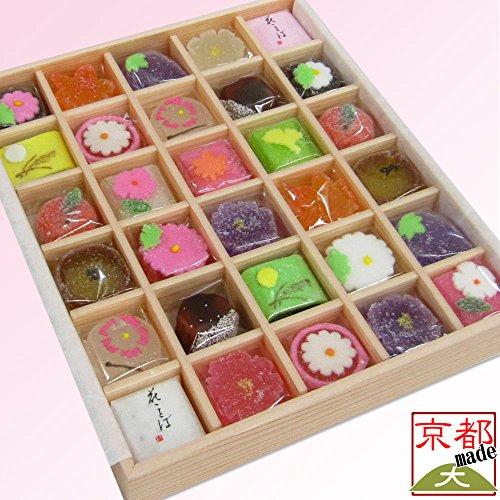 京菓子は見た目も華やかで出産の内祝いに人気