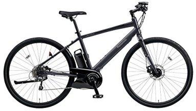 Panasonic(パナソニック) 2018年モデル ジェッター BE-ELHC44A-B(フレームサイズ440mm) カラー:マットチャコールブラック 電動アシスト自転車 専用急速充電器付