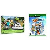 Xbox One S 500GB Ultra HD ブルーレイ対応プレイヤー Minecraft 同梱版 (ZQ9-00068) + Super Lucky's Tale セット