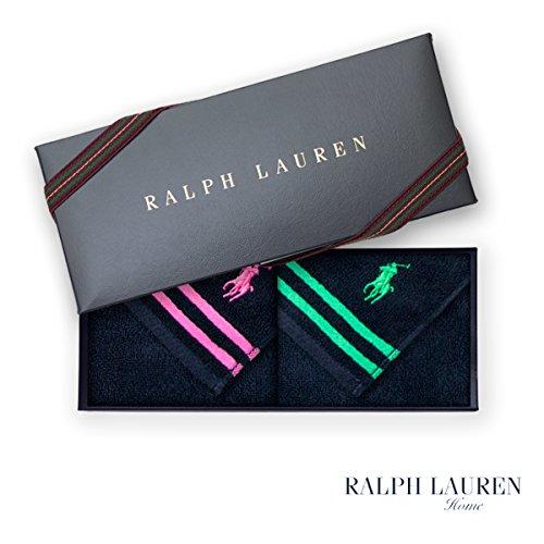 【RALPH LAUREN】タオルハンカチ2枚セット