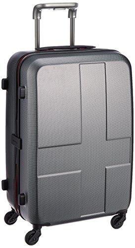 [イノベーター] スーツケース ハードキャリー ジッパー 保証付 50L 62cm 3kg INV55 MATTE CARBON マットカーボン