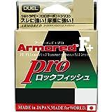 デュエル(DUEL) PEライン アーマード F+ Pro ロックフィッシュ 150m 1.5号 ダークブラウン*オレンジマーキング H4100