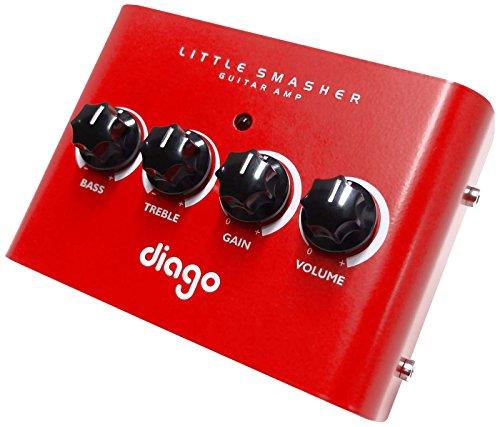 Diago ディアゴ ギター用アンプ・ヘッド Little Smasher 【国内正規輸入品】 【440g~】超小型アンプ特集!小さく持ち運びも楽で良い音のする安い小型ヘッドアンプ!
